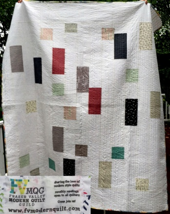 Giving Quilt from Fraser Valley MQG