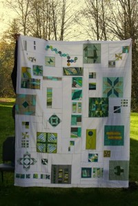 SEAMQG QuiltCon charity quilt top