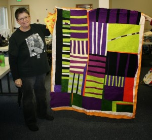 Marilyn's awesome quilt