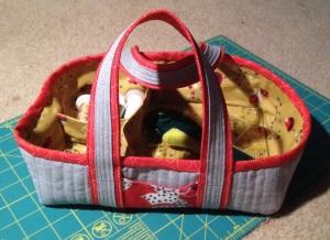 Sewing basket made by AraJane