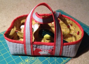 Sewing basket made by AraJane