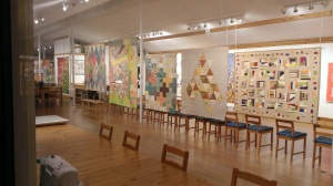 My MODERN: Celebrating Five Years of the Seattle Modern Quilt Guild - on exhibit now through February 5 at Island Quilter
