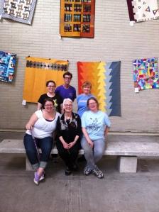 Some of our setup volunteers from 2014.  Photo from Megan Vanderburg.