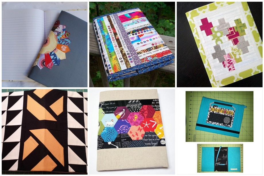 Quilt Guild Swap Ideas : Covered Composition Book and Button Swaps seattle modern quilt guild