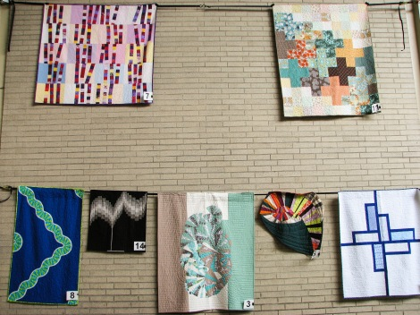 More of our member quilts at 2015 Northwest Folklife Festival