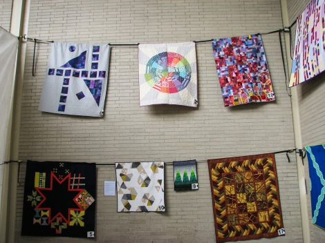 Quilts at 2015 Northwest Folklife Festival Memorial Day weekend