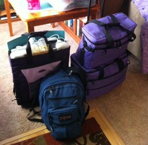 How much stuff does one quilter need?  Photo by Megan Vanderburg