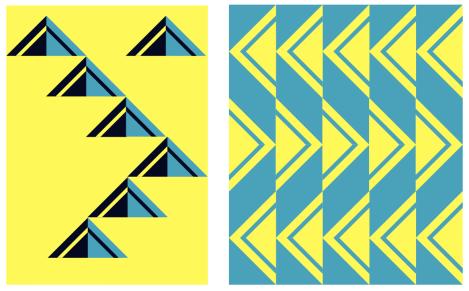 Side Stripe Block Study Block